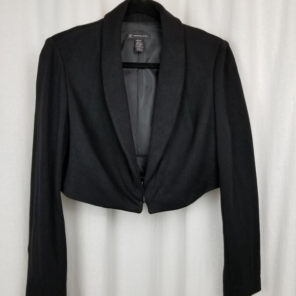 INC International Concepts Jackets & Blazers - I.N.C. womens short jacket size M black